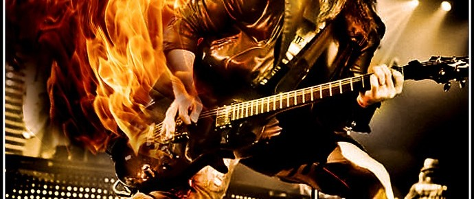 "Ron ""Bumblefoot"" Thal at The Guitar Show"