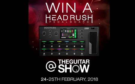 Win a HeadRush Pedalboard
